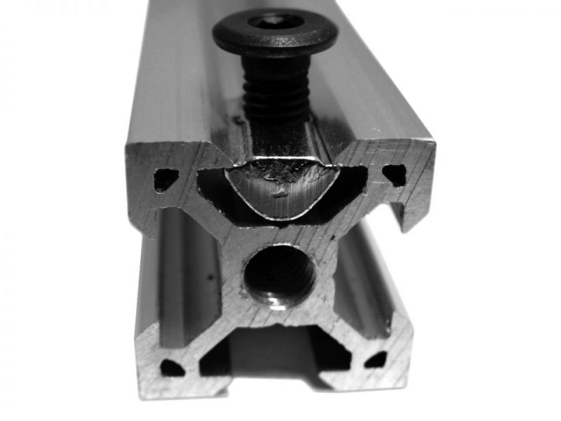 Tuerca Tee Roll-In V-Slot C-Beam T-Slot serie 20 puesto