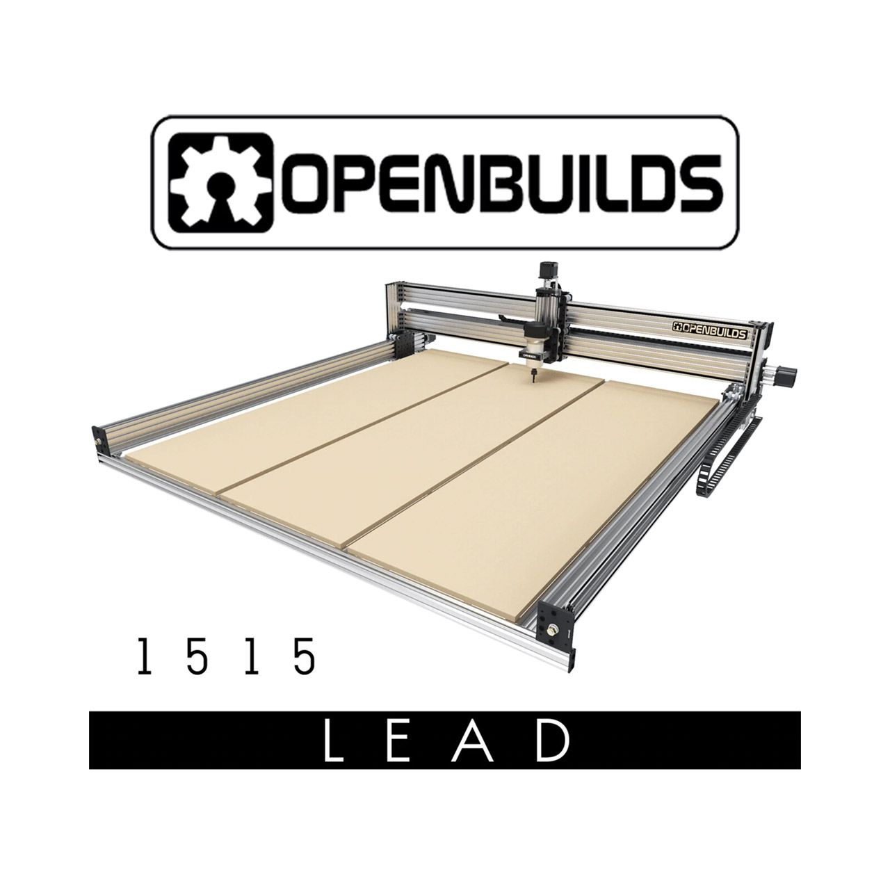 OpenBuilds Lead CNC 1515 48″ x 48″ Full Kit foto 1