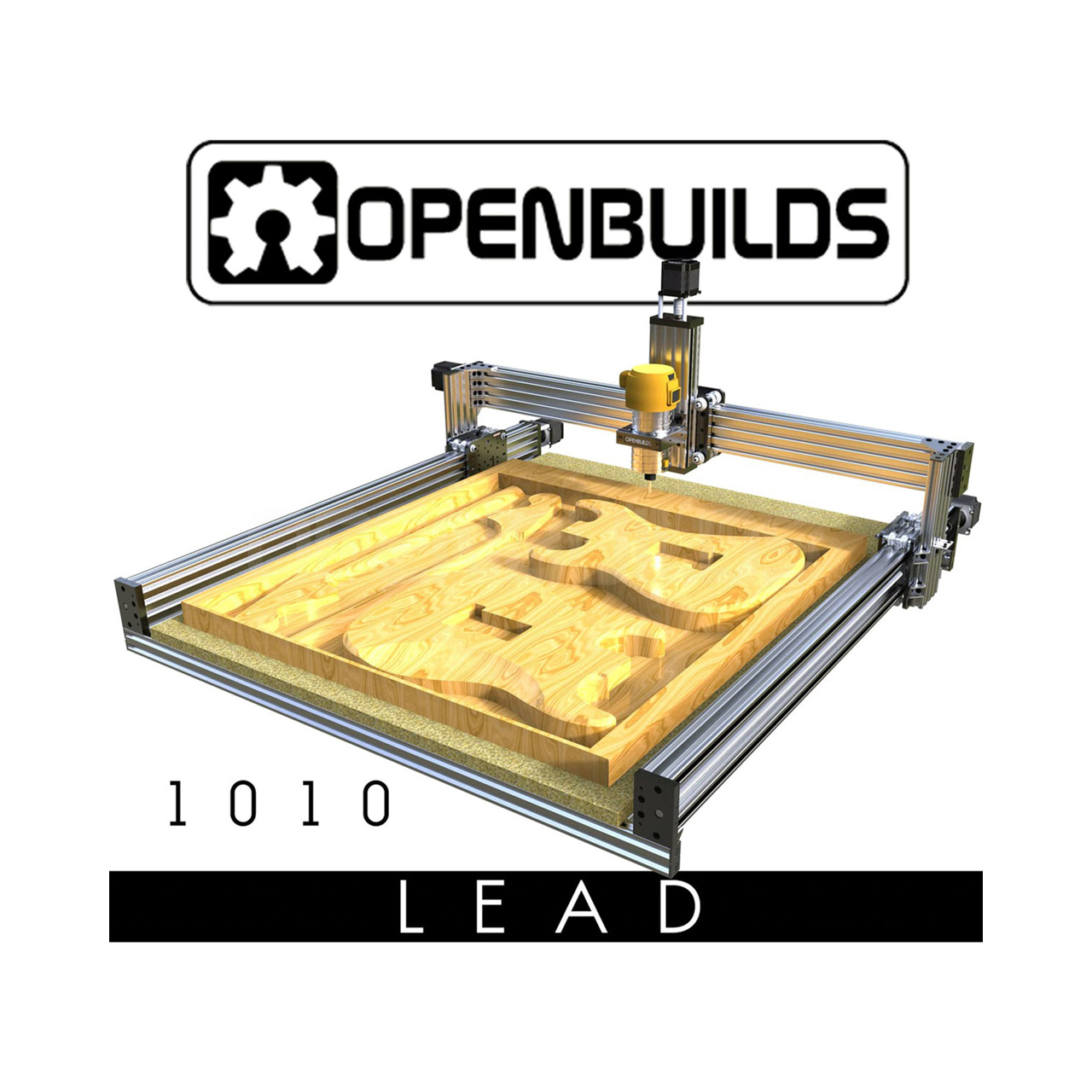 OpenBuilds Lead CNC 1010 40″ x 40″ Full Kit foto 1